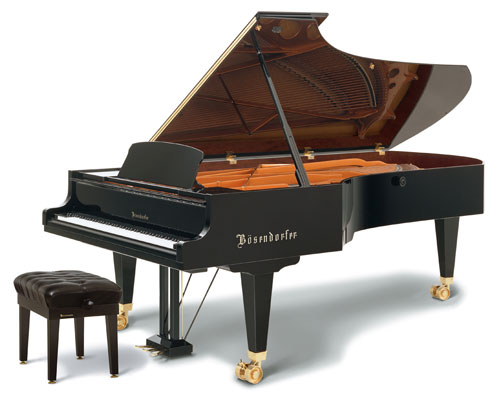 A Boesendorfer Imperial Grand Piano